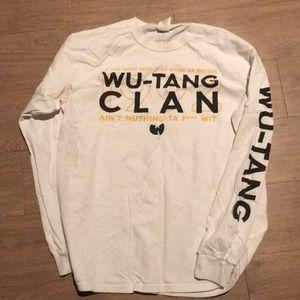 Wu-Tang Clan VTG Long Sleeve Concert Shirt